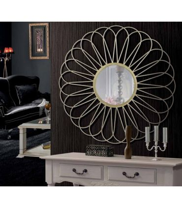 Espejo Moderno con Marco de Aluminio : Modelo CALEDONIA