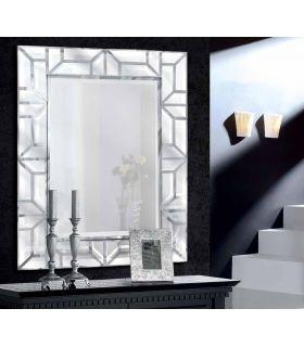 Espejo de Pared Rectangular con Lunas Biseladas : Modelo SINGAPUR
