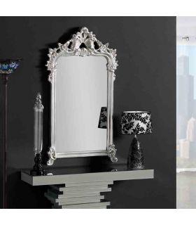 Comprar online Espejos de pared Estilo Clásico : Modelo SILICIA Plata