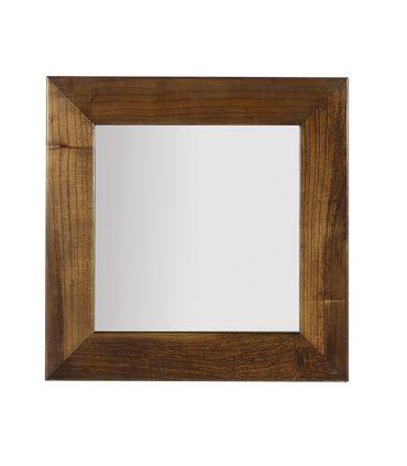 Espejos cuadrados de Madera de Mindi : Coleccion STAR