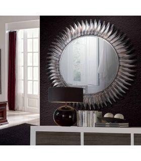 Comprar online Espejo decorativos de Diseño en Metal : Modelo GIRASOL