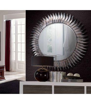 Espejo decorativos de Diseño en Metal : Modelo GIRASOL