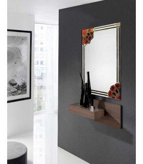 Comprar online Espejos de Cristal Decorados a mano : Modelo NAZARI
