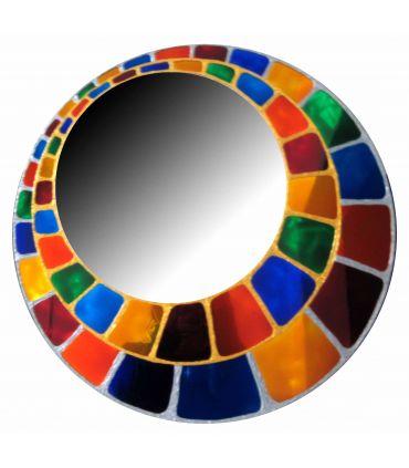 Espejos de Cristal Decorados a mano : Modelo ESFERA