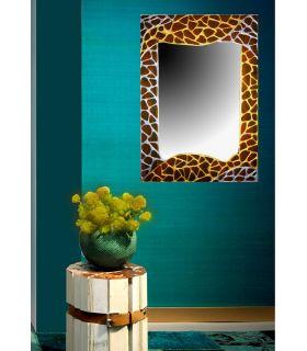 Comprar online Espejos de Cristal Decorados a mano : Modelo GAUDI JAUNE