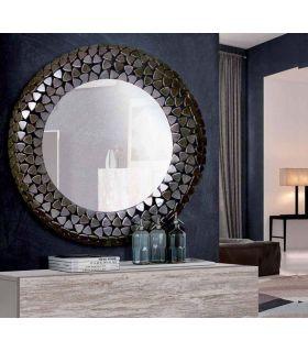 Comprar online Espejo con Marco Redondo de Aluminio : Modelo ARMADILLO