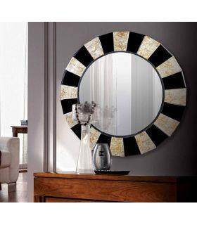 Comprar online Espejo Redondo Decorativo Modelo KARMA