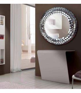 Comprar online Espejo Redondo de Aluminio : Modelo MAGMA