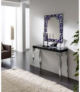 Comprar online Espejos de Cristal Decorados a mano : Modelo ALHAMBRA