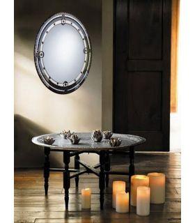 Comprar online Espejos de Cristal Decorados a mano : Modelo NATASHA Oval