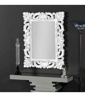 Espejo de Estilo Clásico : Modelo VESTAL blanco