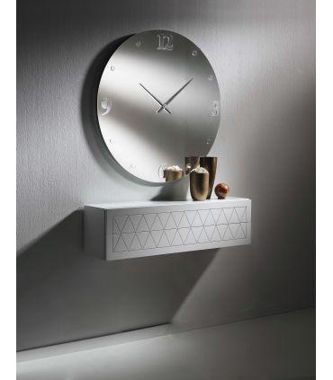 Espejo Reloj Decorativo : Modelo ARADIA Redondo