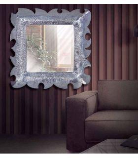 Comprar online Espejo Cuadrado de metal trabajado : Modelo REGINA