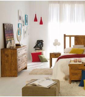 Comprar online Cómoda madera de pino para Dormitorios Colección MINIMAL