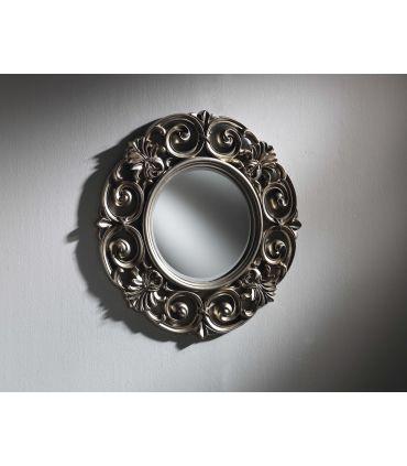 Espejo Redondo con marco Calado : Modelo VOLGA