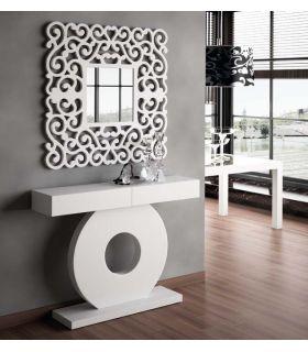 Comprar online Espejos Modernos de Pared Cuadrados : Modelo SANDRA Blanco