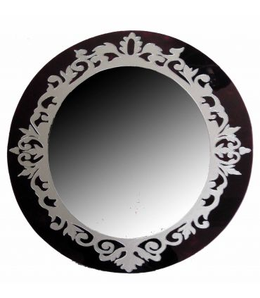Espejos de Cristal Decorados a mano : Modelo VINTAGE