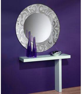 Comprar online Espejos de Cristal Decorados a mano : Modelo IRIS