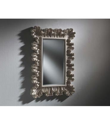 Espejo Decorativo Modelo DON Blanco Perlado