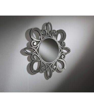 Espejo de pared con lunas de cristal : Modelo RODANO