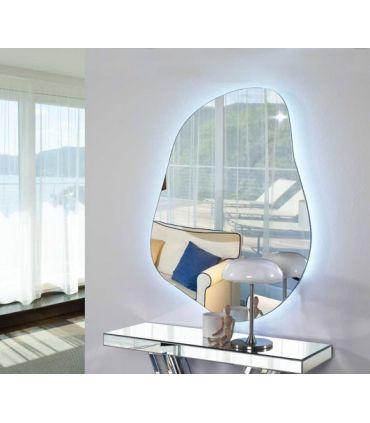 Espejos de Cristal con Luz LED : Modelo GOTA II