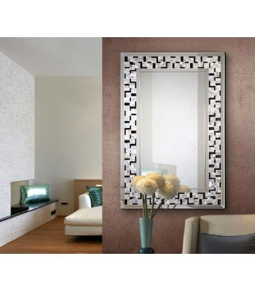 Espejo de Diseño con Marco Rectangular : Modelo NACAR II