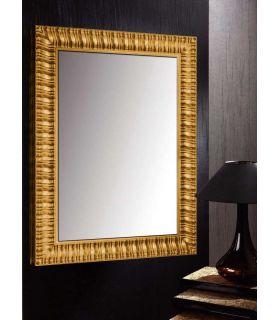 Comprar online Espejo con Marco de madera a Medida ALICANTE Oro