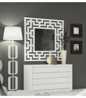 Comprar online Espejos con Diseños Modernos : Modelo BYRON Cuadrado