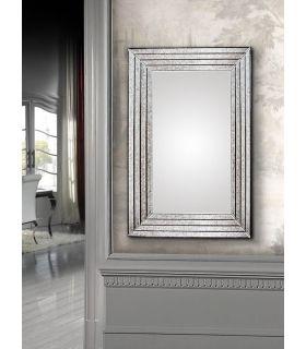 Comprar online Espejo de pared Clásico con marco de Cristal PISA Schuller