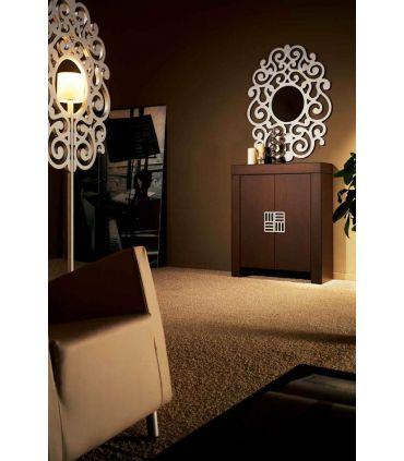 Espejos de Diseño : Modelo CASSANDRA Blanco Pequeño