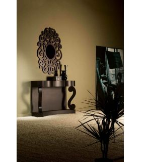 Comprar online Espejos de Diseño : Modelo CASSANDRA Oxido Pequeño