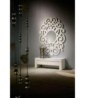 Comprar online Espejos de Diseño : Modelo CASSANDRA Blanco Grande