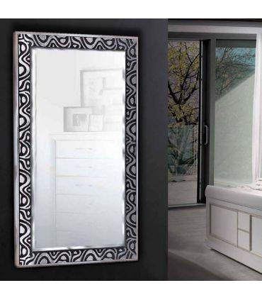 Espejos decorativos de pared a medida : Modelo CORNELLA Negro