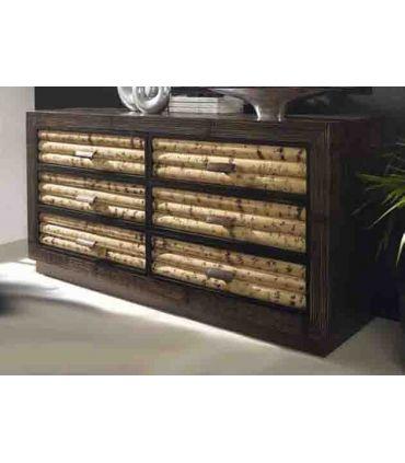 Comodas de Bambu : Coleccion RUMBA