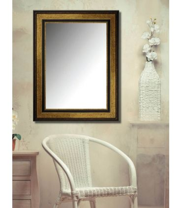 Espejo con Moldura de Madera a Medida : Modelo BARCELONA DEC