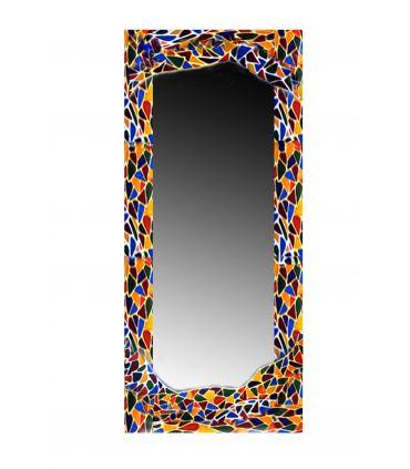 Espejos de Cristal Decorados a mano : Modelo GAUDI RECTANGULAR MD