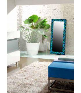Comprar online Espejos de Cristal Decorados a mano : Modelo MOSAICO RECTANGULAR GR