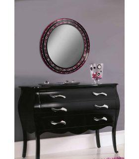 Comprar online Espejos de Cristal Decorados a mano : Modelo GOTICO RD
