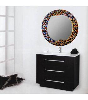 Comprar online Espejos de Cristal Decorados a mano : Modelo GAUDI RD