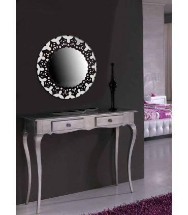 Espejos de Cristal Decorados a mano : Modelo MANDALA RD