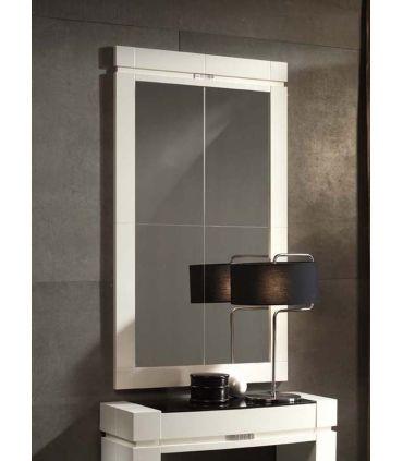 Espejos de Madera a medida : Modelo ORLY GR Blanco