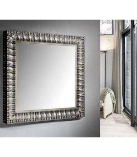Comprar online Espejo de Diseño Moderno a Medida : Colección ALICANTE Plata