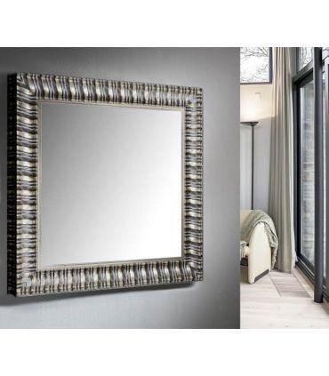 Espejo de Diseño Moderno a Medida : Colección ALICANTE Plata