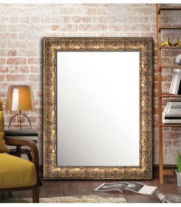 Espejo con Moldura de Madera : Modelo MALAGA DEC