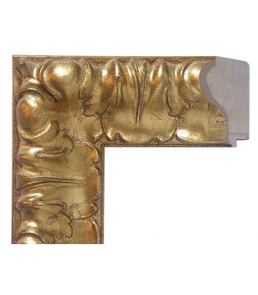 Espejos a medida de pared en Madera Modelo TARRASA Oro