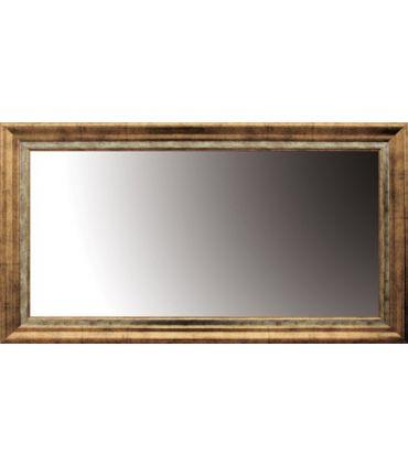 Espejos Vestidores de madera : Modelo LUMIA Oro