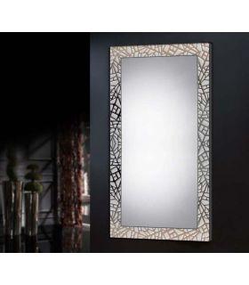 Espejo Vestidor Moderno con Marco a Medida : Modelo LEGANES Blanco