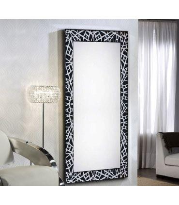 Espejo Vestidor con Marco a Medida : Modelo LEGANES Blanco