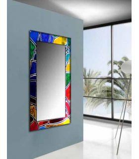 Comprar online Espejos de Cristal Decorados a mano : Modelo VITRAIL Vestidor