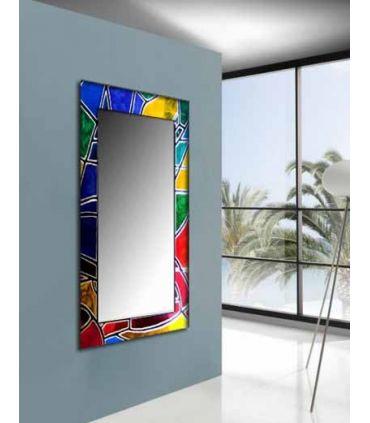 Espejos de Cristal Decorados a mano : Modelo VITRAIL Vestidor